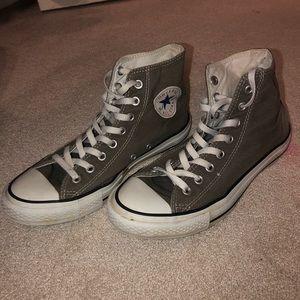 Converse Grey High Tops